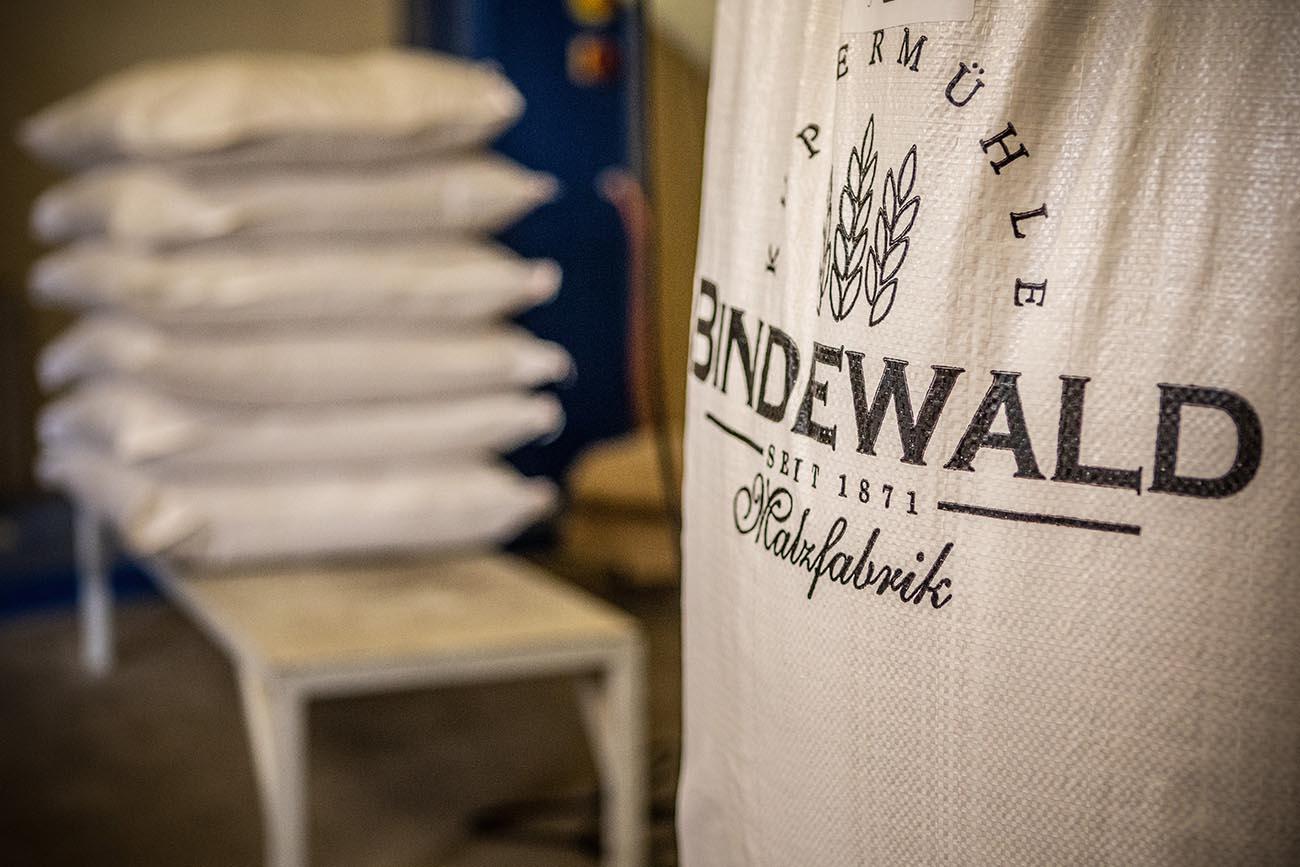 Bindewald partner tedesco di Abs Brew per fornitura malti in grani malti di altissima qualità